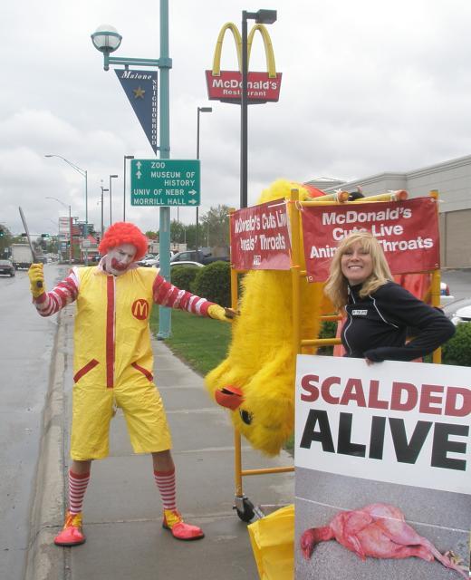 Ronald McDonald's Dark Side by Steve Martindale