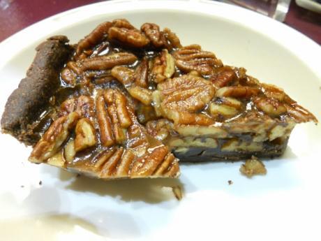 vegan and gluten-free chocolate pecan pie